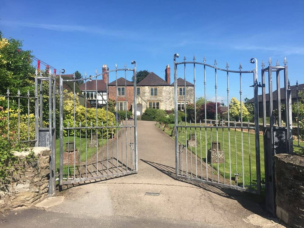 ELECTRIC GATES FOR WESTONS CIDER MAIN HOUSE AND VISITOR CENTER