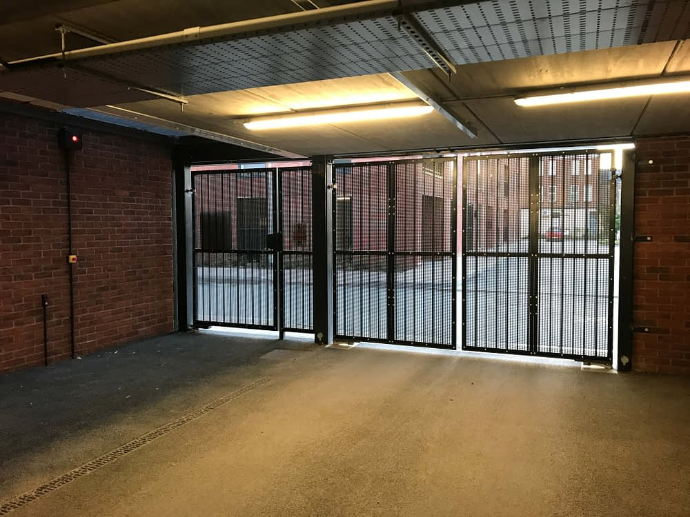 SECURITY GATES AND AUTOMATION FOR SHARED CAR PARK IN CENTRAL GLOUCESTER