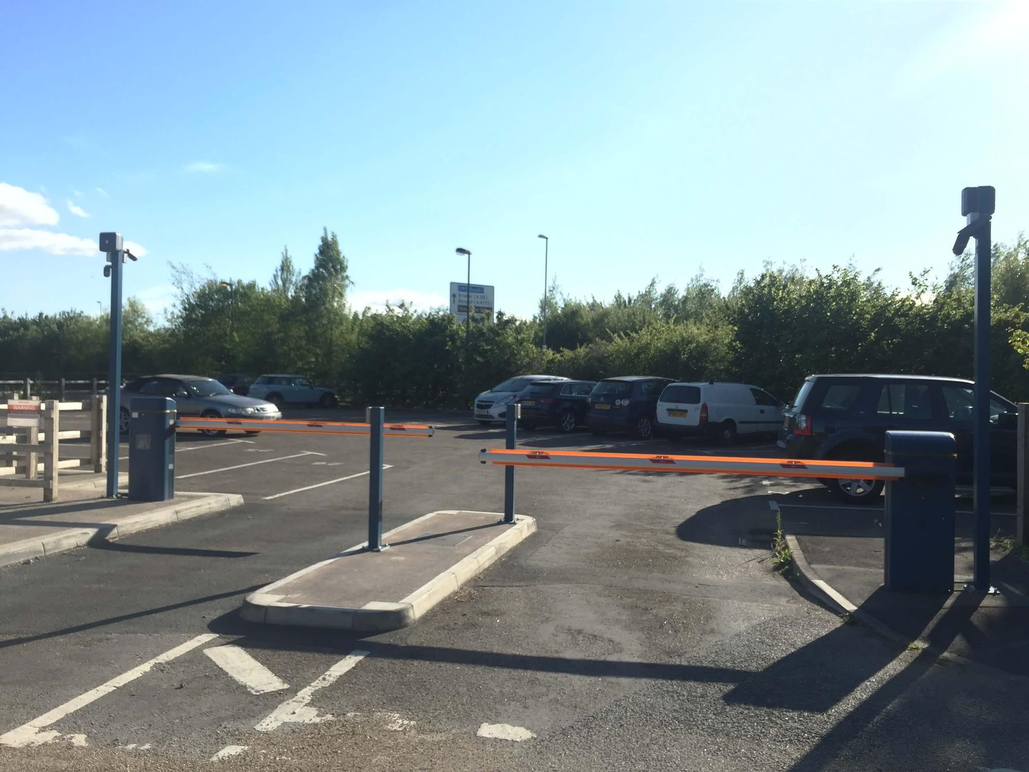 DOUBLE BARRIERS AND CCTV FOR THE CASTLEMEADS CAR PARK GLOUCESTER